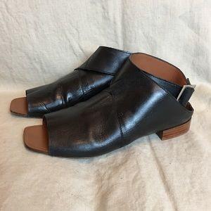 Zara Sandals Black Size 7